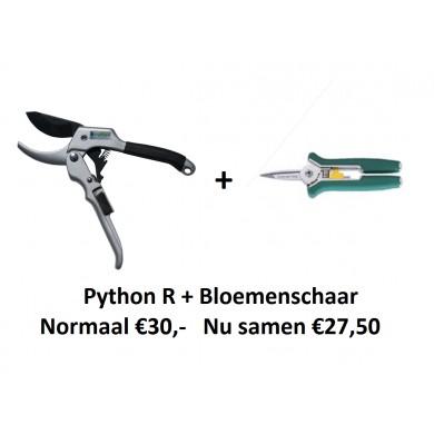 APRIL ACTIE! Python R + bloemenschaar