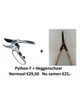 ACTIE! Python F + heggenschaar