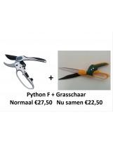 ACTIE! Python F + grasschaar