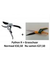 ACTIE! Python R + grasschaar