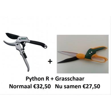 APRIL ACTIE! Python R + grasschaar